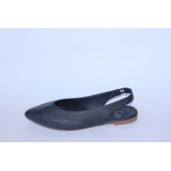 Zapato destalonado azul